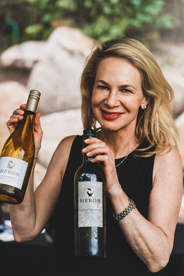 Laely Heron of Heron Wines